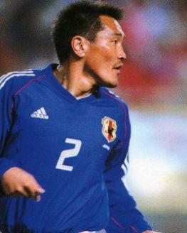 秋田豊・日本代表歴代センターバック