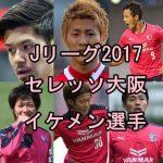 セレッソ大阪イケメン選手ランキング【Jリーグ2017年版】