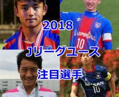 Jリーグユース2018・注目選手