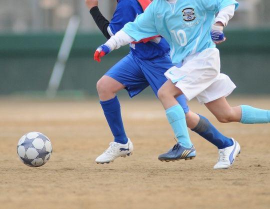 サッカー・ドリブル