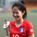 イ・ミナ(サッカー)がかわいい!整形?韓国代表で実力はどう?