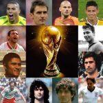 ワールドカップ歴代得点王のまとめ!記憶と記録に残ったスター達