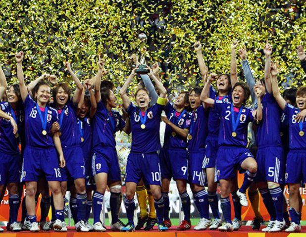 なでしこワールドカップ優勝メンバー