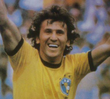 ブラジル代表歴代10番・ジーコ