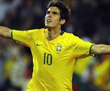ブラジル代表歴代10番・カカ