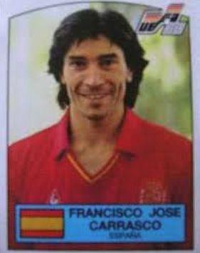 スペイン代表歴代10番・フランシスコ・ホセ・カラスコ