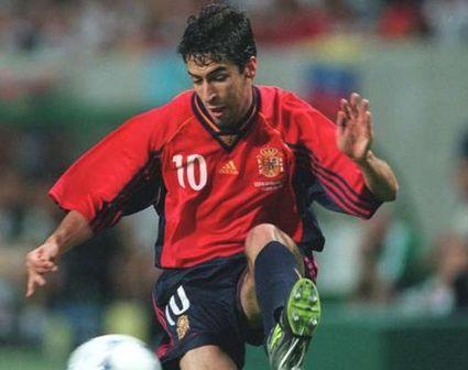 スペイン代表歴代10番・ラウル・ゴンサレス