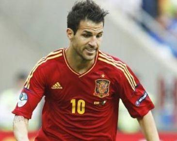 スペイン代表歴代10番・セスク・ファブレガス