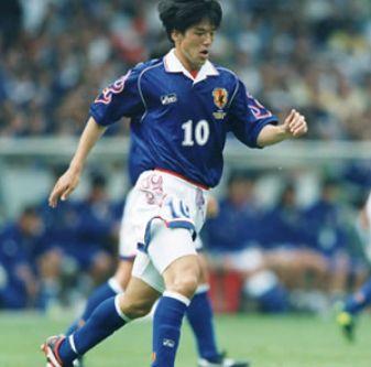 日本代表歴代10番・名波浩