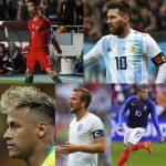 ロシアワールドカップMVP予想!各国代表の注目候補選手を5選!