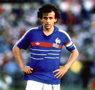 フランス代表歴代ベストイレブン・プラティニ