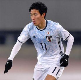 U-21日本代表メンバー・遠藤渓太