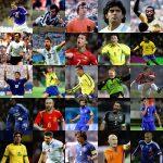 世界最高のサッカー選手ランキングベスト30!【歴代の英雄】
