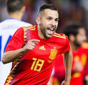 スペイン代表・歴代最強ベストイレブン・フォーメーション・アルバ