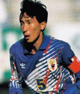 サッカー日本代表歴代キャプテン・柱谷哲二