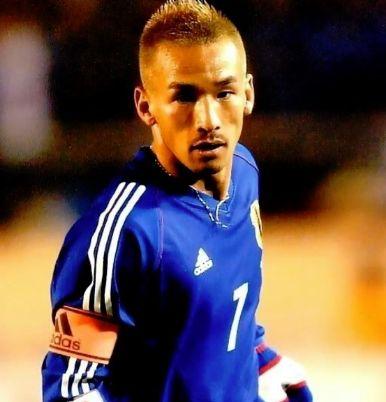サッカー日本代表歴代キャプテン・中田英寿