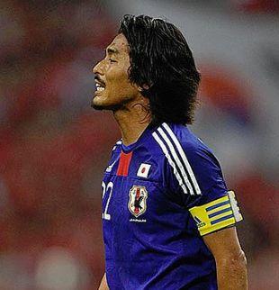 サッカー日本代表歴代キャプテン・中澤佑二