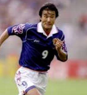 サッカー日本代表歴代キャプテン・中山雅史