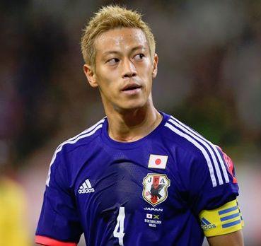 サッカー日本代表歴代キャプテン・本田圭佑