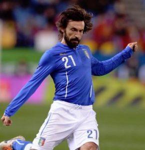 イタリア代表・歴代最強ベストイレブン・フォーメーション・ピルロ