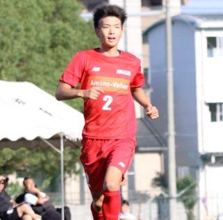 東福岡高校サッカー部のメンバー2018-2019・中村拓海