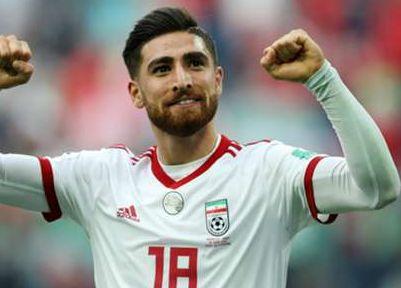 アジアカップ注目選手2019・アリレザ・ジャハンバフシュ・イラン