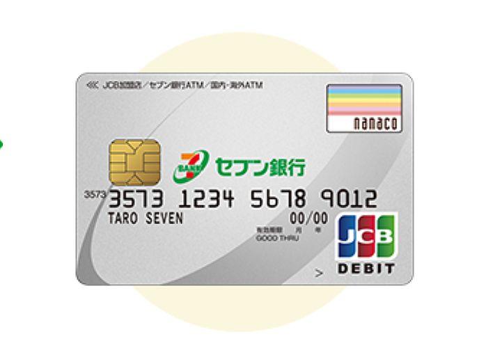 セブンデビットカード